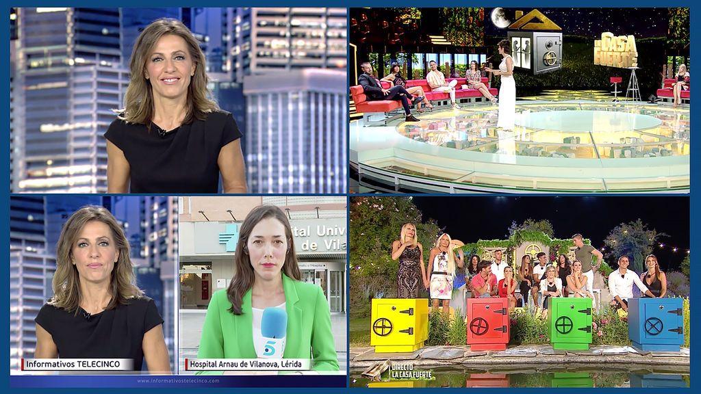 Informativos Telecinco 15:00 horas y 'La Casa Fuerte', emisiones más vistas del domingo