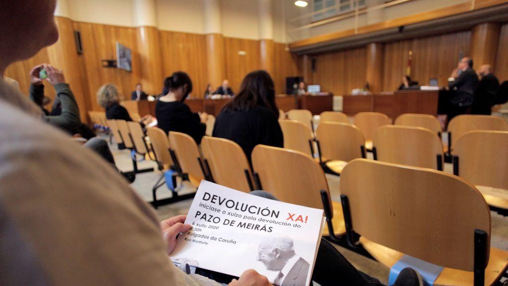 """Un """"guardia hortelano"""" o amigos de los Franco,  testigos clave para dirimir la propiedad del Pazo de Meirás"""