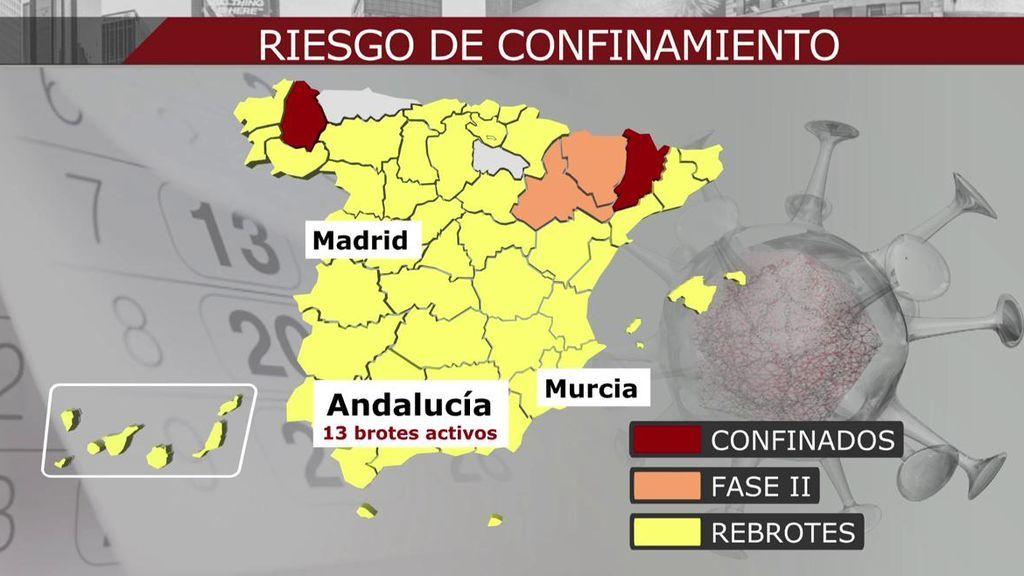 Fernando Simón, sobre las dos comarcas que han vuelto al confinamiento