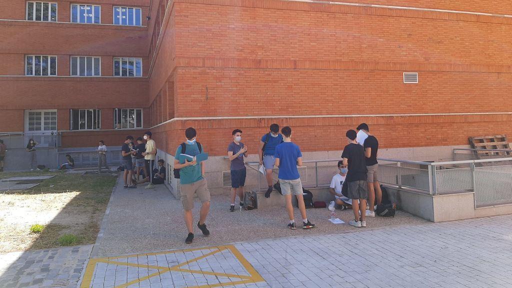 Comienza la EvAU en Madrid