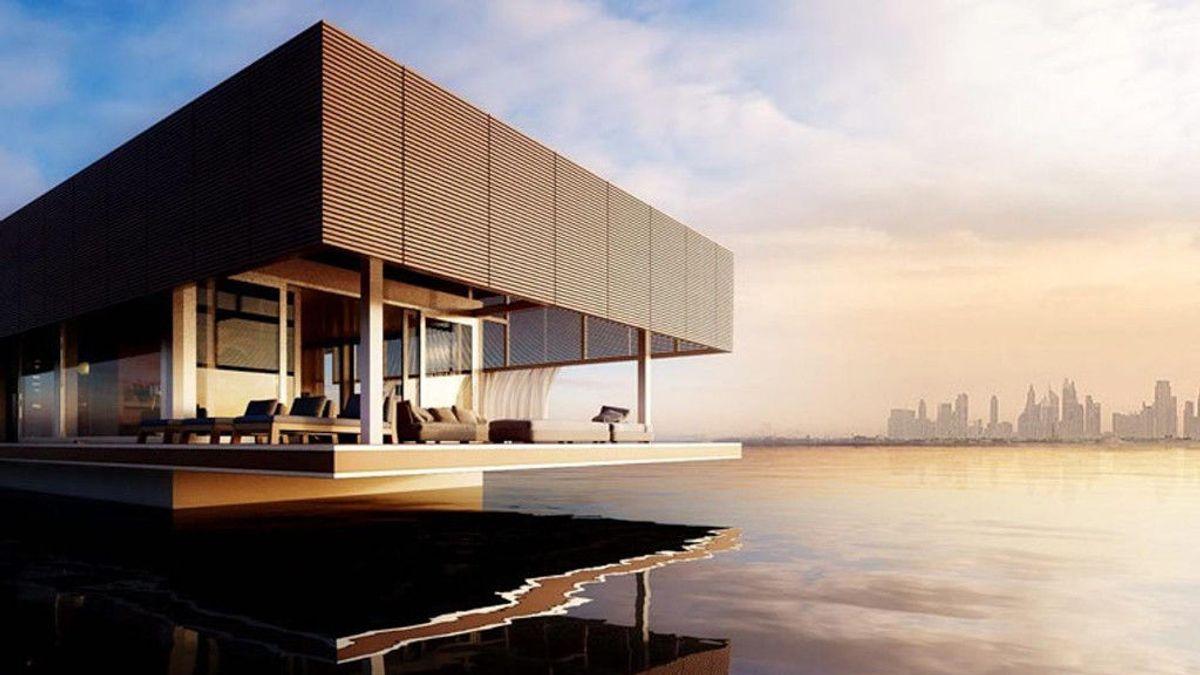 Casas flotantes autosuficientes: caprichos sostenibles de lujo