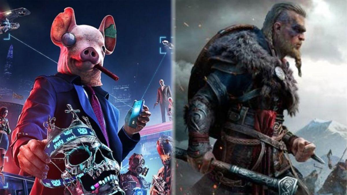 Watch Dogs: Legion y Assassin's Creed Valhalla