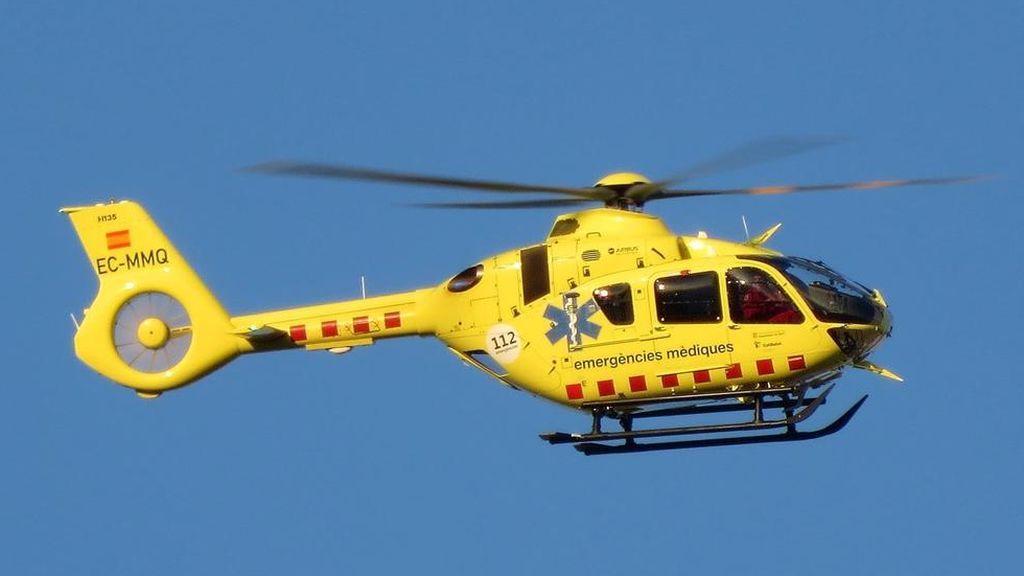Dos fallecidos en un accidente de helicóptero en Lérida