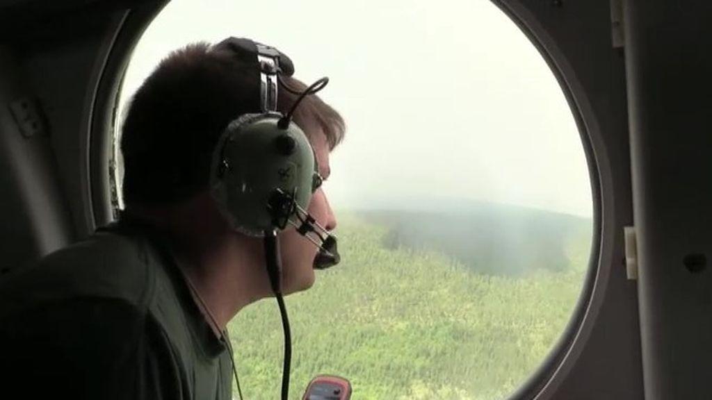 Las imágenes de los incendios de Siberia desde el aire