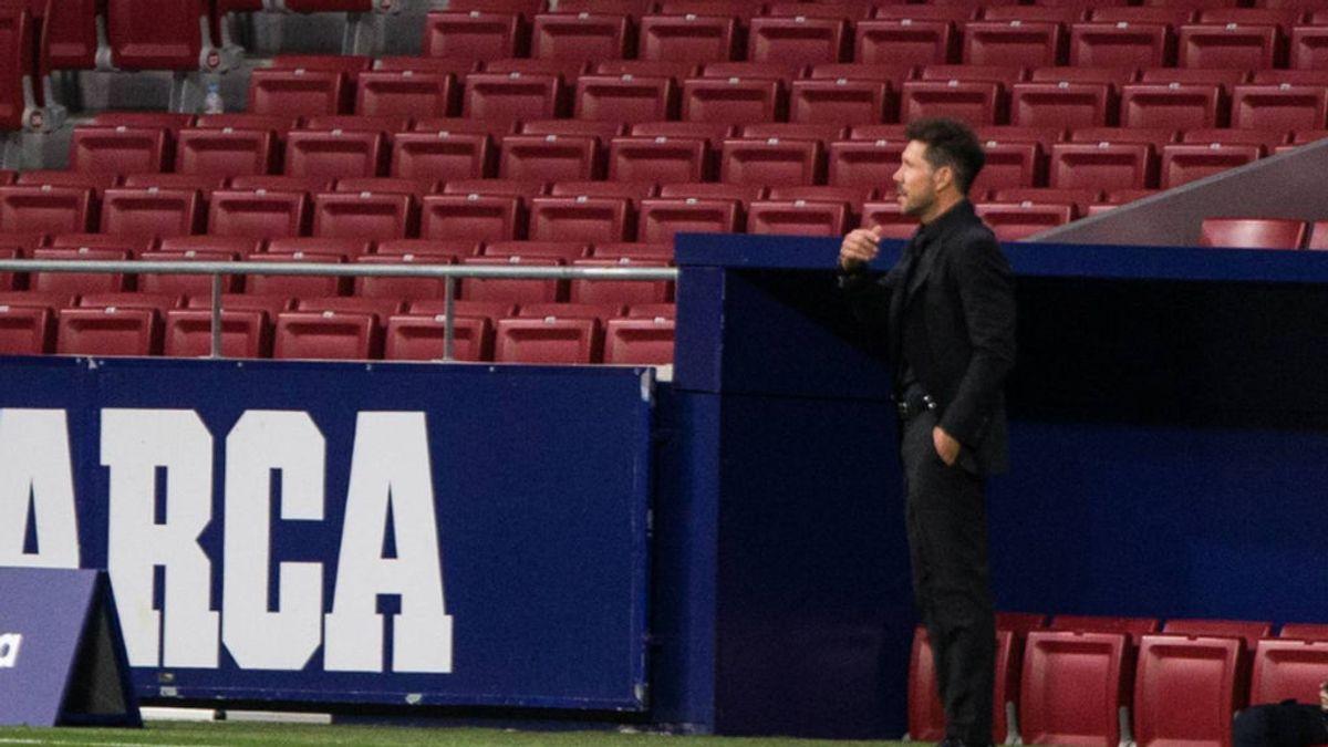 """Simeone regatea la polémica del VAR: """"Al Madrid le pitan más penaltis porque ataca más"""""""