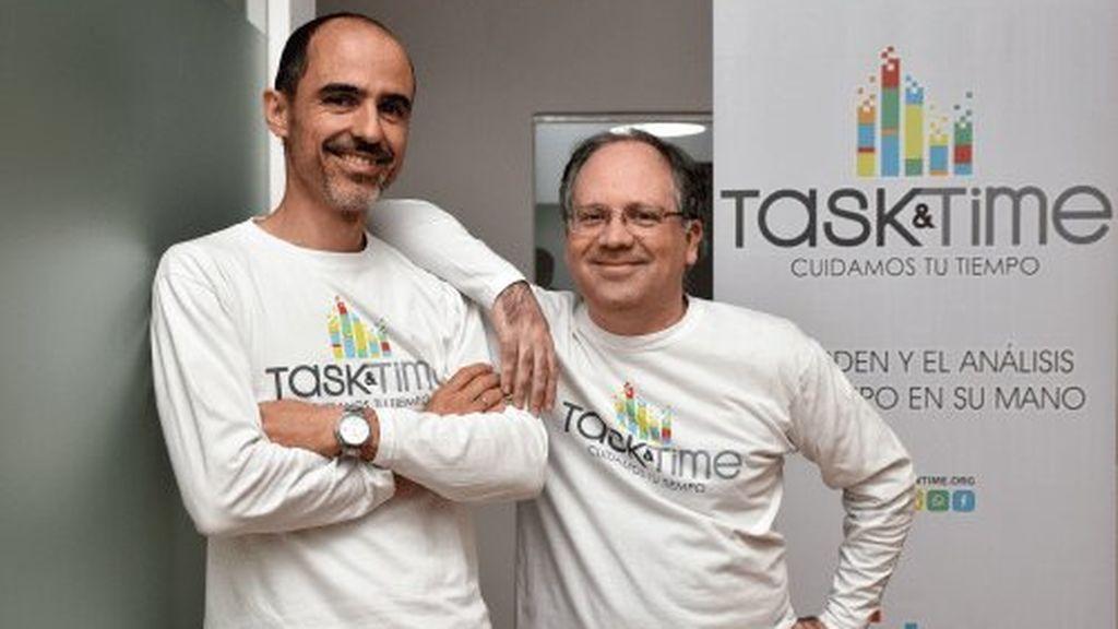 Luis Javier Álvarez y José María Guillén, fundadores de Task&Time
