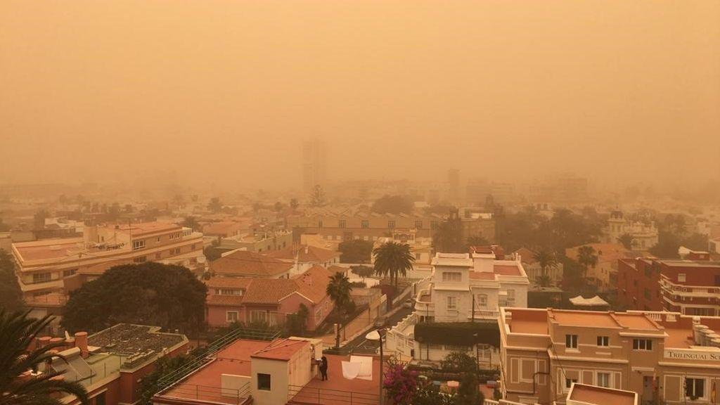 Llega polvo del Sahara: