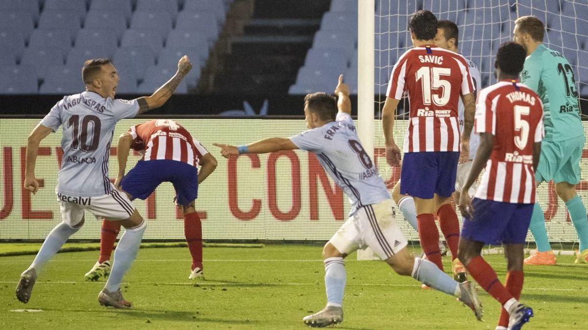 El Celta consigue sacarle el empate al Atlético de Madrid y consigue un paso más de cara a la salvación (1-1)