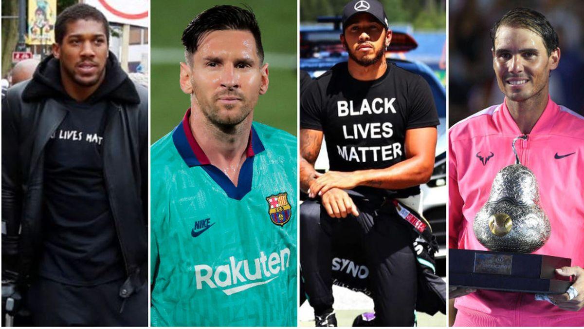 Anthony Josua propone a los deportistas más influyentes del mundo crear una unión para luchar contra el racismo