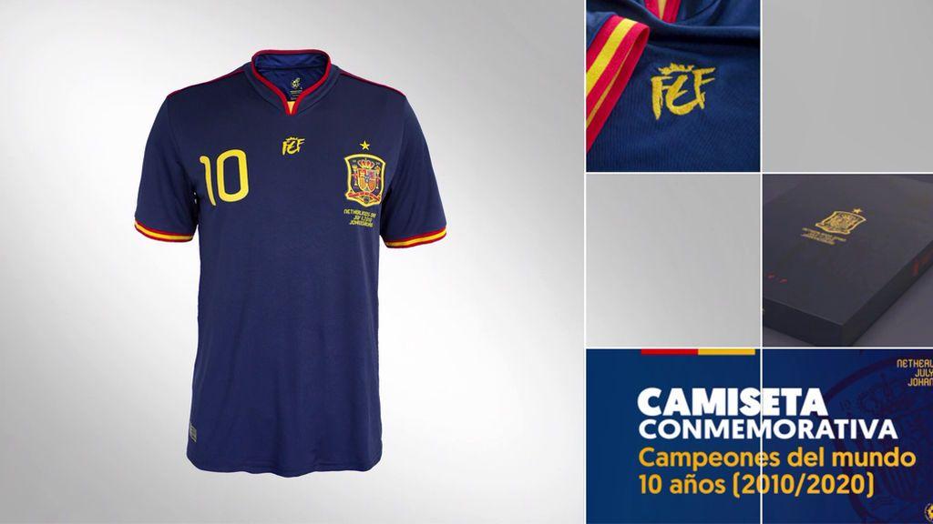 Camiseta Conmemorativa 10 AÑOS Campeones (2010 – 2020)