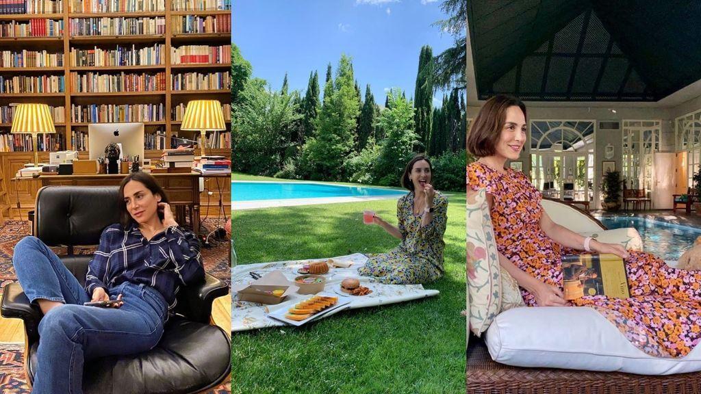 Villa Meona, ayer y hoy: Descubrimos cómo es la casa de Preysler, Tamara and family