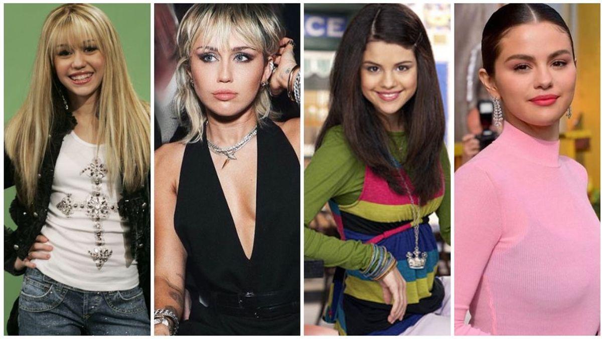 De Selena Gómez a Demi Lovato: así han cambiado las 'chicas disney'.