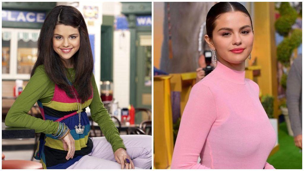 También, Selena Gómez ha madurado frente a las cámaras de Disney Channel.