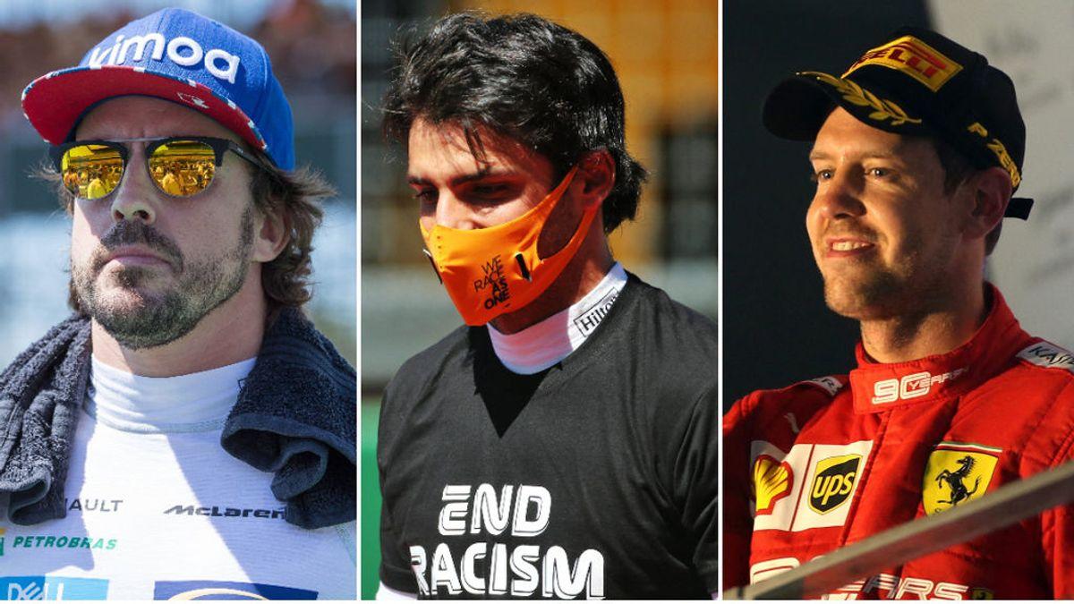 Semana importante en la Fórmula 1: Alonso firmará por Renault, crisis en Ferrari y Carlos Sainz, con opciones de podio