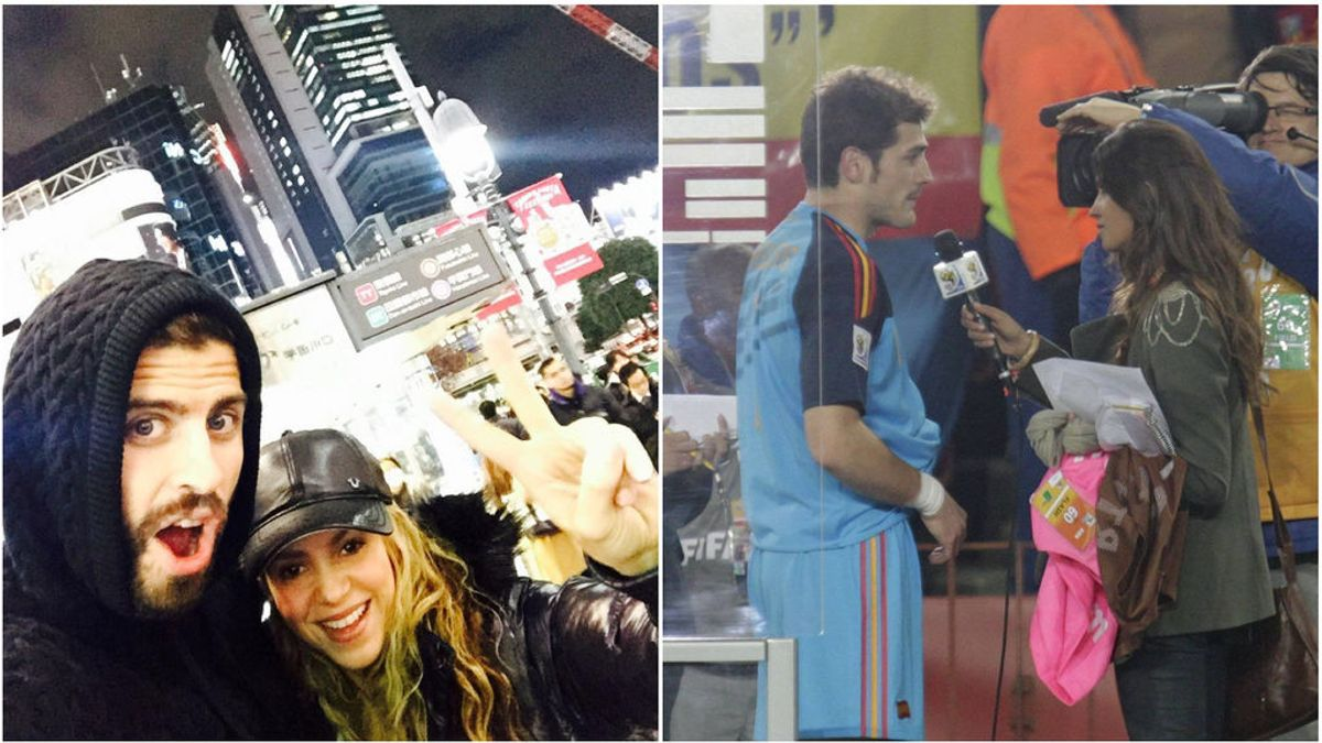 El otro Mundial de Casillas y Piqué: encontraron el amor con SaraCarbonero y Shakira