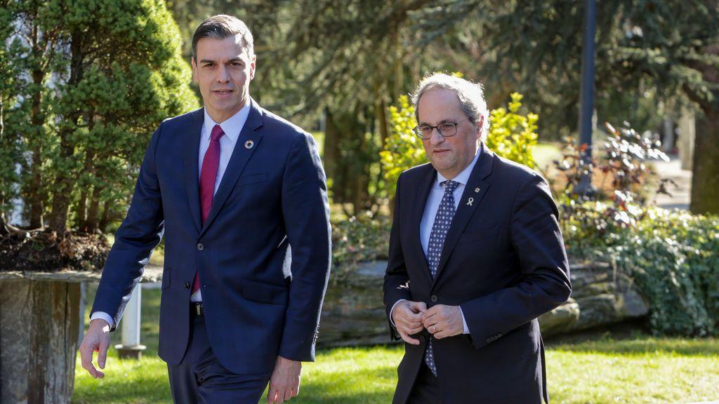 Torra exige a Sánchez que ponga por escrito la fecha del referéndum y las condiciones