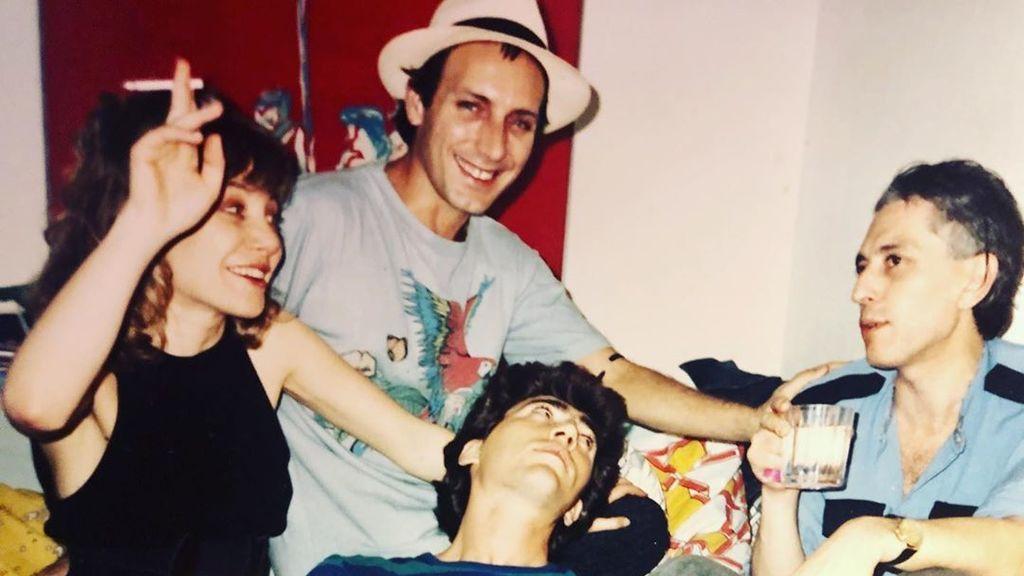 La foto de Cecilia Roth en la que recuerda su juventud loca con Eusebio Poncela e Iván Zuleta