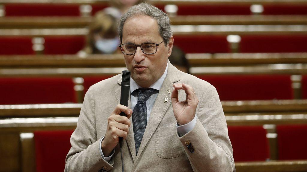 """Quim Torra, sobre la gestión de la pandemia: """"La culpa es de Madrid, por eso queremos ser independientes"""""""