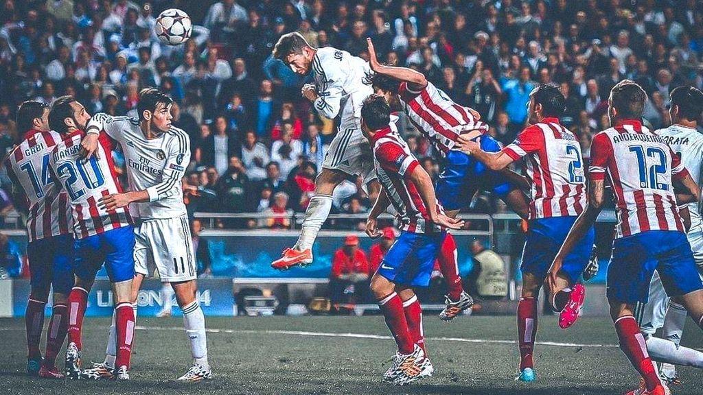 Partido disputado entre Real Madrid y Atlético de Madrid
