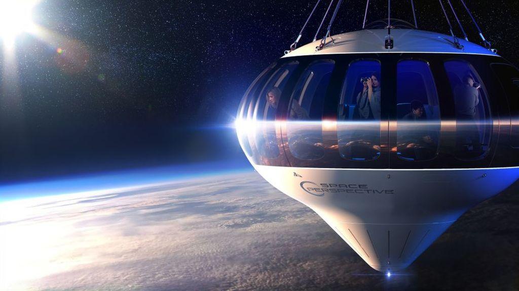 Lo último en turismo espacial: un paseo en globo por la estratosfera por 100.000 euros
