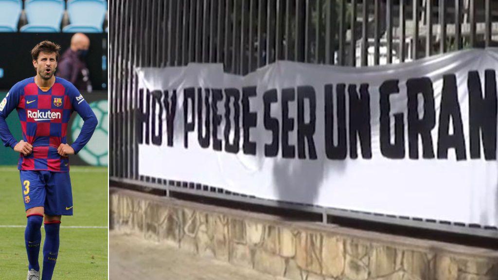 Pancarta Piqué