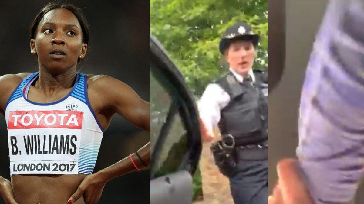 """La atleta Bianca Williams sufre un nuevo episodio racista y la policía se disculpa: """"Aprenderemos"""""""