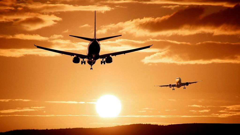 El complicado croquis aéreo para evitar que los aviones choquen entre sí