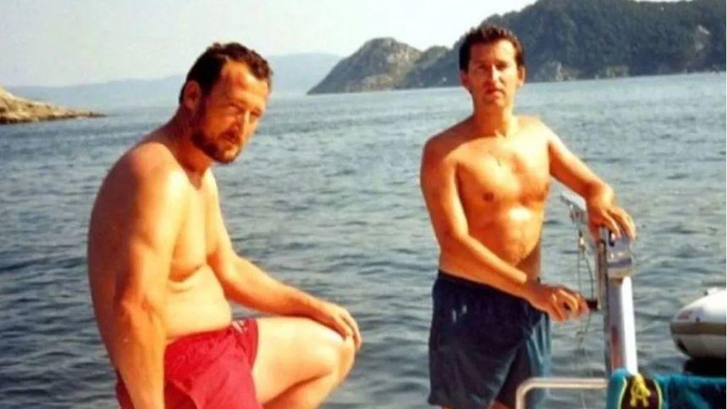 Marcial Dorado y Alberto Núñez Feijoo en una de las imágenes publicadas por El País