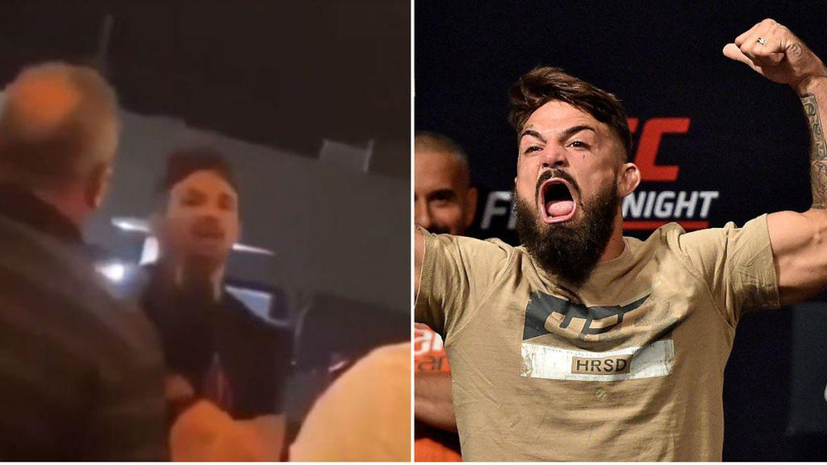 """La estrella de la UFC Mike Perry deja KO a un señor mayor por """"acercarse demasiado a él"""""""