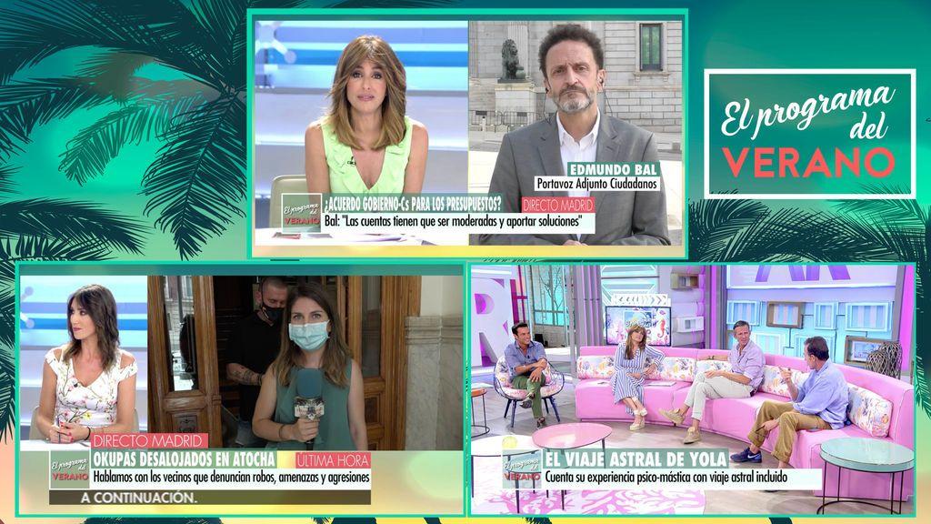 'El programa del verano' bate su récord de temporada y supera por más de 5 puntos a 'Espejo Público'