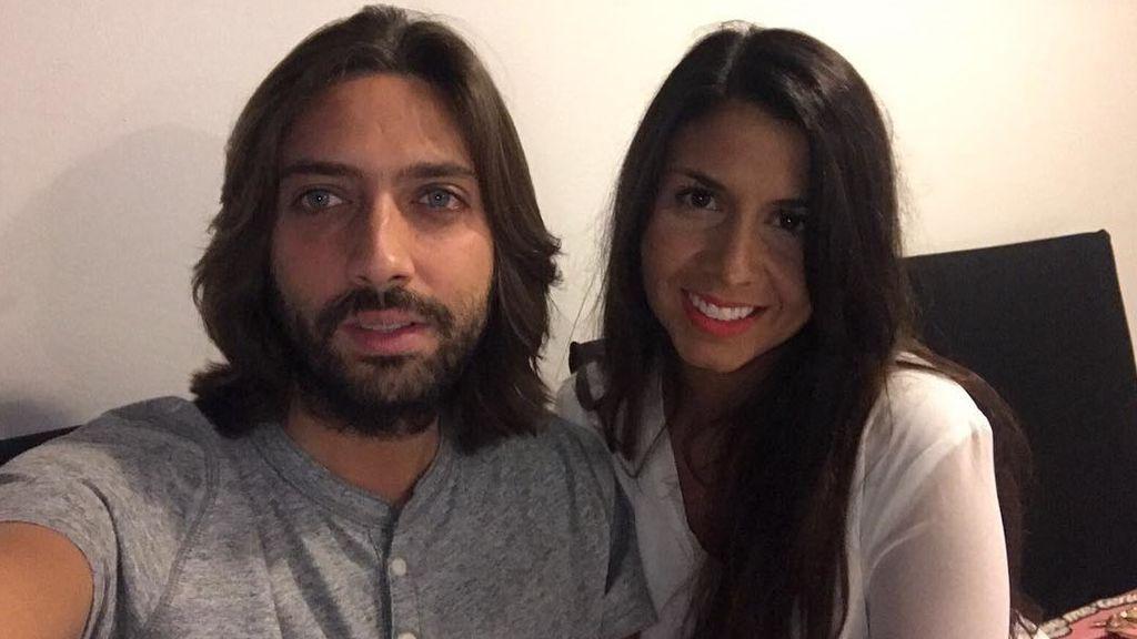 """Sara Verdasco y Juan Carmona, padres por partida doble: """"Ya están aquí las mellizas"""""""