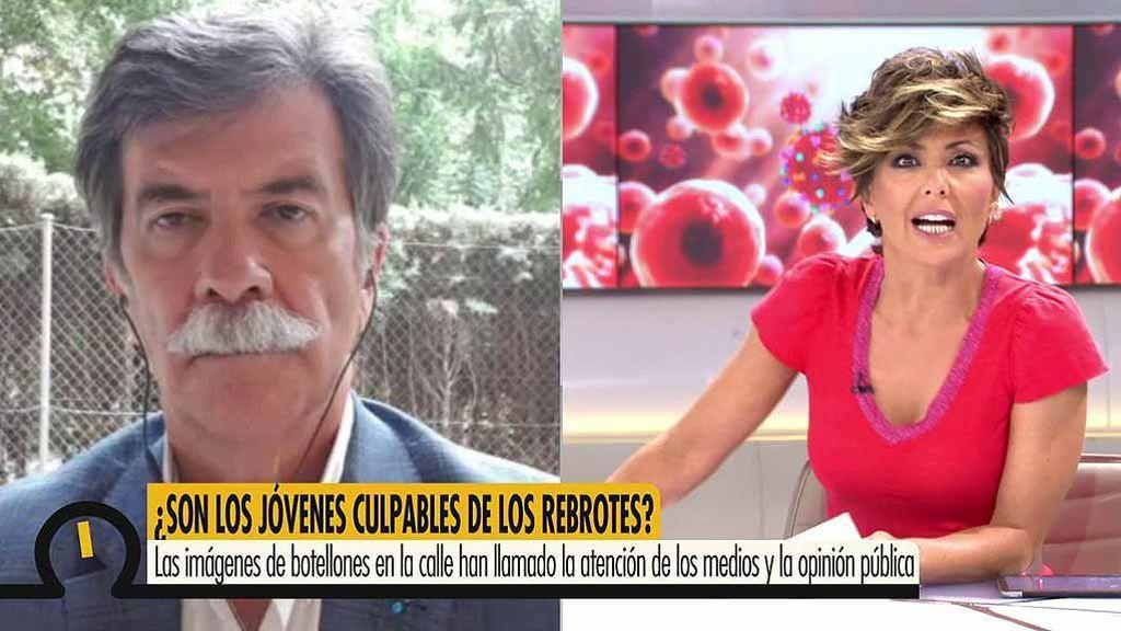 """Javier Urra, sobre la despreocupación de los jóvenes ante el coronavirus: """"Hay que preguntarnos cómo les hemos educado"""""""