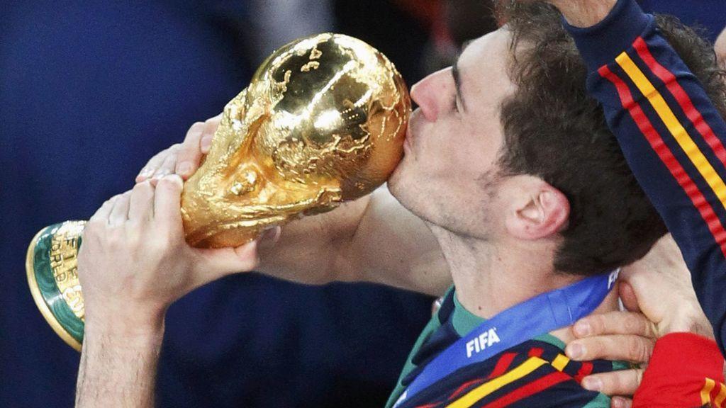 Iker Casillas, qué noche la de aquel año