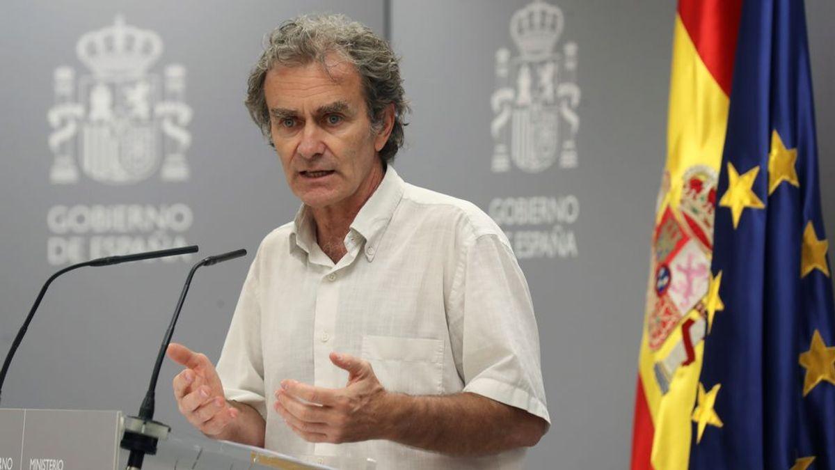 """Simón encuentra difícil probar la transmisión por el aire y ve """"extraño"""" que los brotes de Madrid sean solo familiares"""