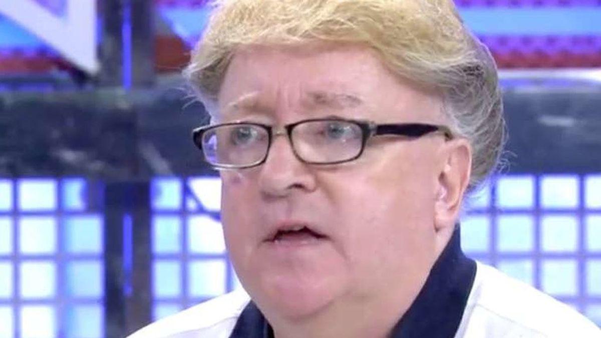 Paco Porras, el vidente de 'Crónicas Marcianas', ingresado en la UCI por un infarto