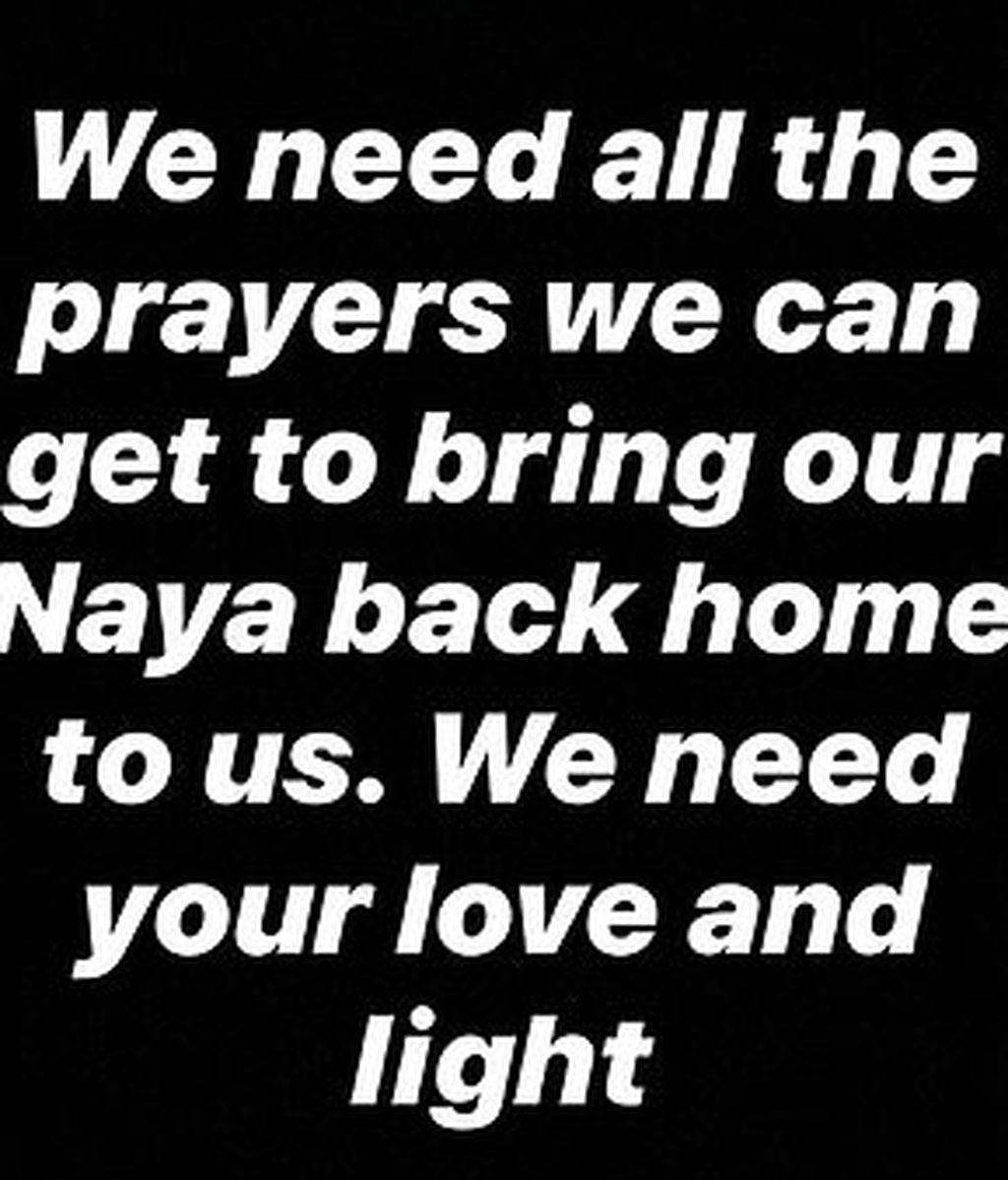 El mensaje de Heather a Naya Rivera