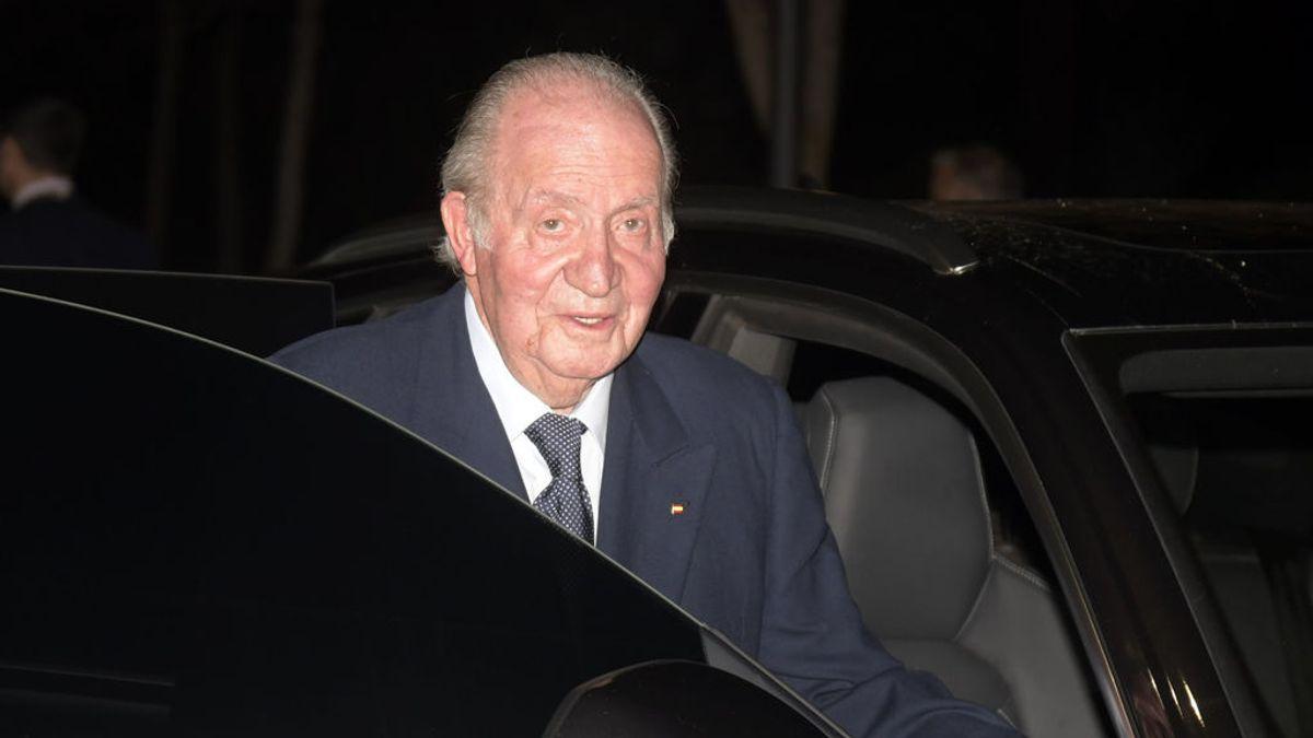 Imagen del rey emérito, Juan Carlos I