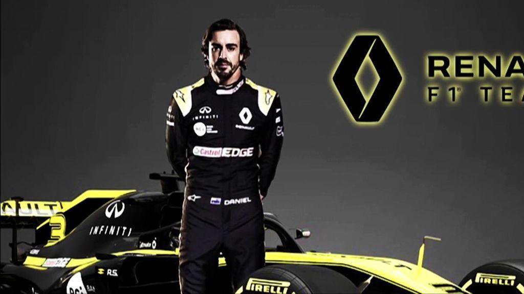 """Fernando Alonso, tras confirmarse su vuelta a la Fórmula 1 con Renault: """"Ves la reacción de la gente y te ilusiona más"""""""