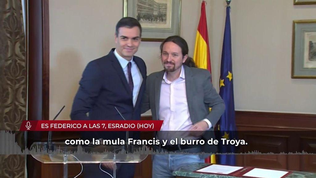Jiménez Losantos defiende al Rey Emérito y carga contra Sánchez e Iglesias