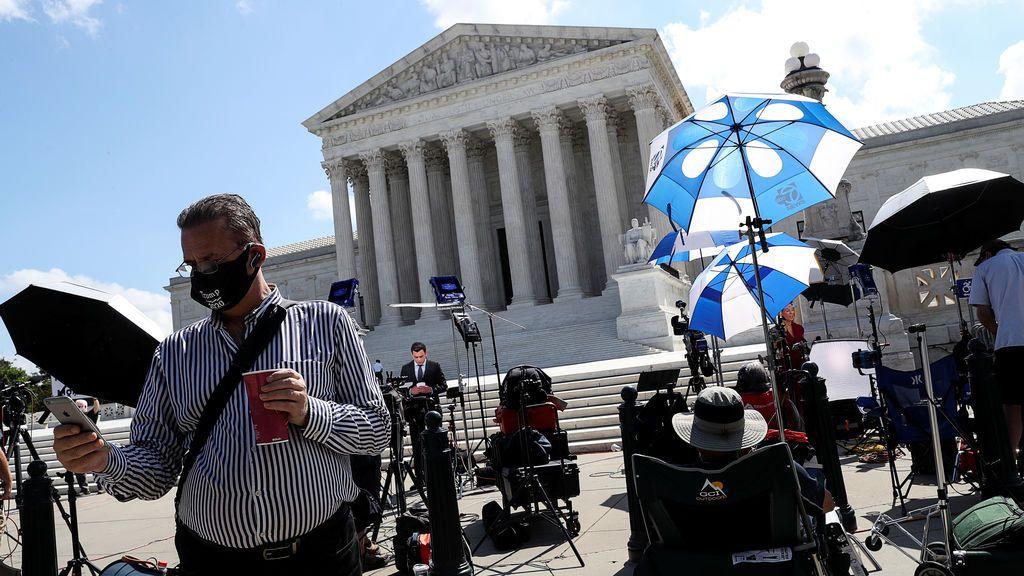 El Tribunal Supremo obliga a Trump a entregar sus declaraciones a hacienda