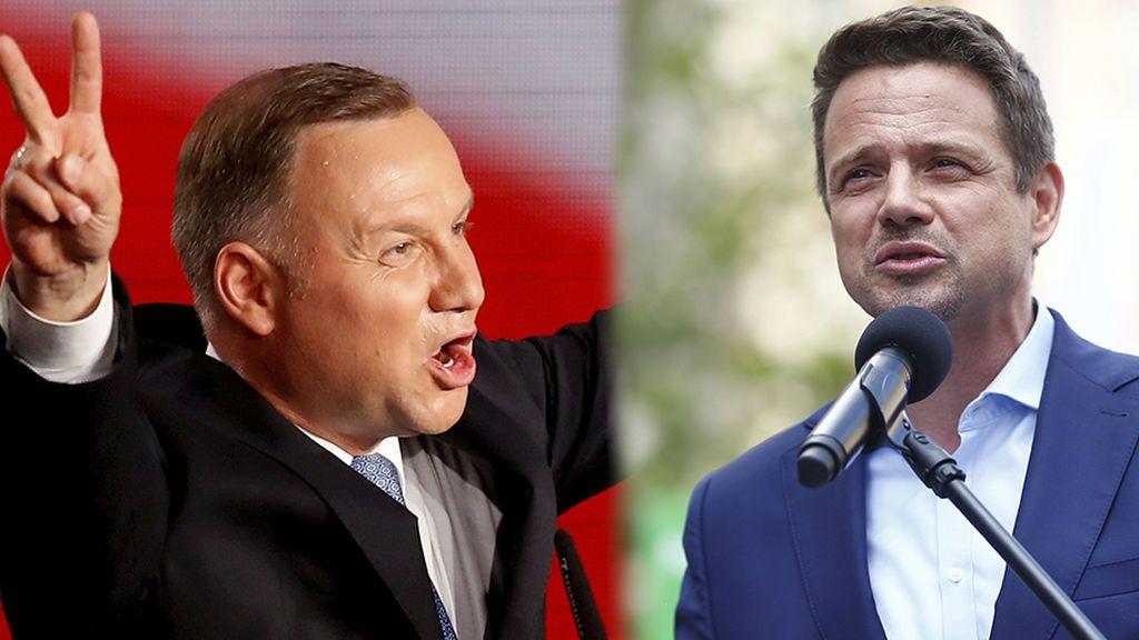 El duelo polaco: el ultraconservador Duda y el europeísta Trzaskowski se juegan la presidencia