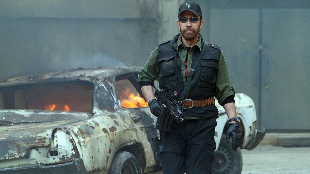 Chuck Norris en 'The Expendables 2' (2012)