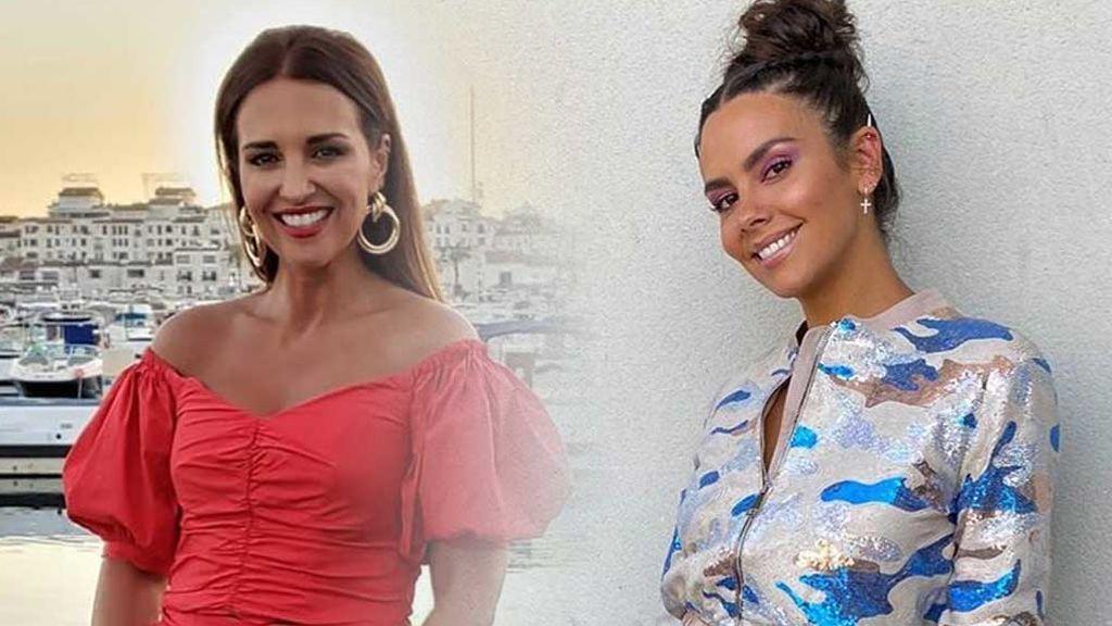 Paula Echevarría y Cristina Pedroche llevan el mismo vestido: no se sabe quién ha versionado mejor el icónico Versace de JLo