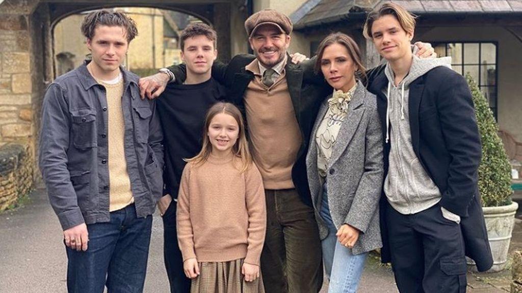 La tribu de los Beckham: así son actualmente los cuatro hijos de David y Victoria.