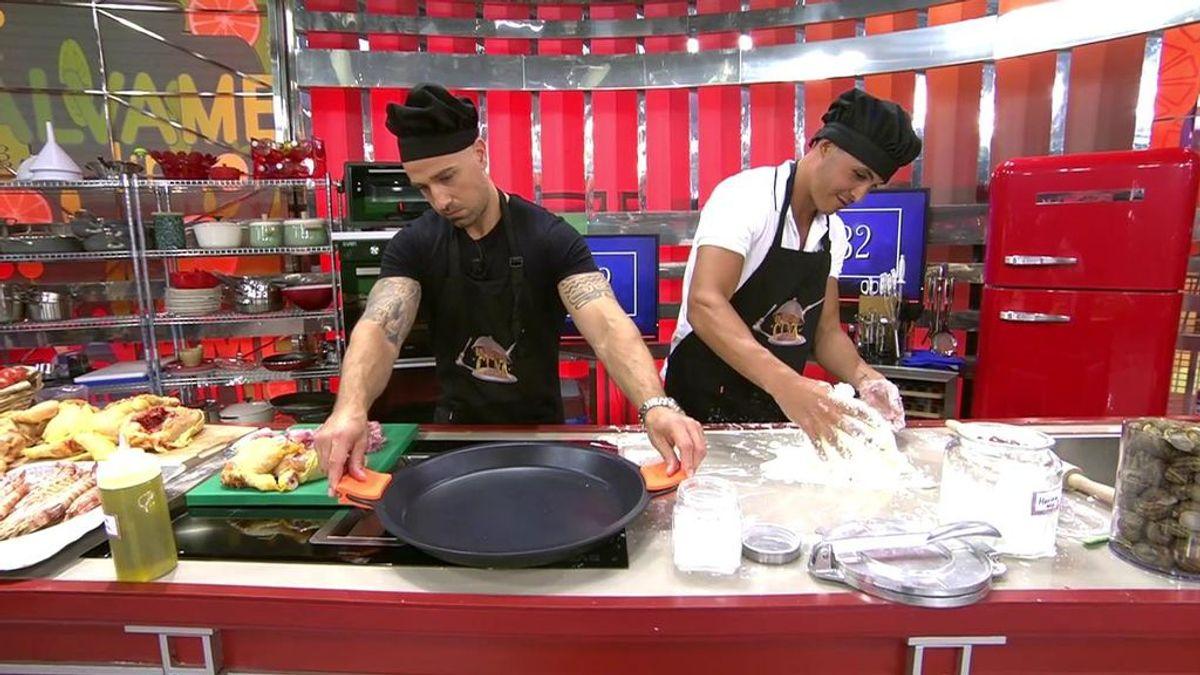 Rafa Mora y Kiko Jiménez cocinan: ponles nota