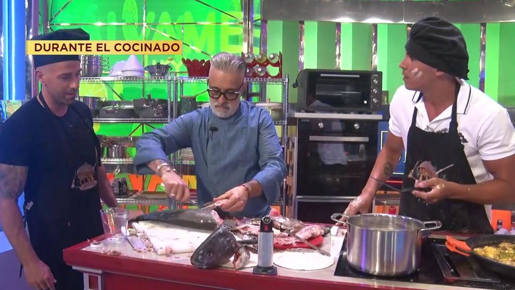 """""""Es vergonzoso, jamás había visto algo así"""": Sergi Arola tira los caracoles de Rafa Mora y Kiko Jiménez"""