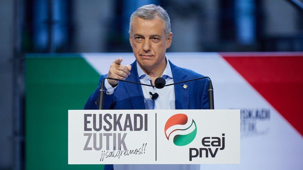 El lehendakari, Íñigo Urkullu, ha cerrado campaña en Bilbao