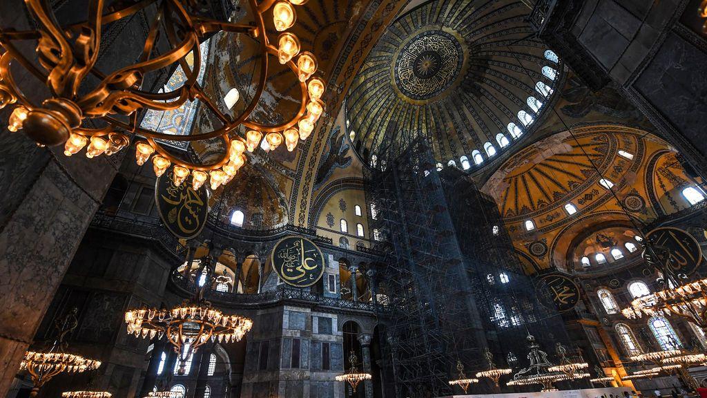 Interior de Santa Sofía (Estambul)