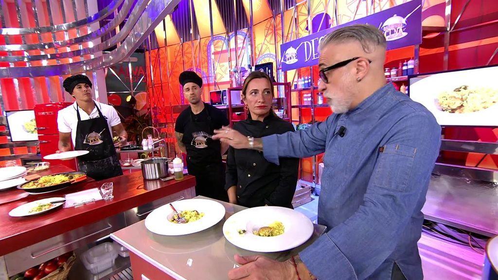 """La cena de Rafa Mora y Kiko Jiménez es """"incomestible"""" para Sergi Arola"""