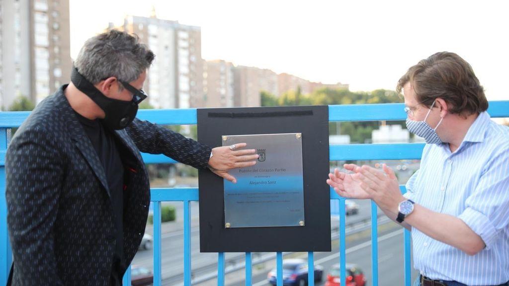 Alejandro Sanz recibió 40.000 euros por el concierto sorpresa que dio en un puente de la M-30